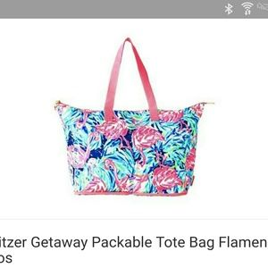 Nwt lilly pulitzer packable tote